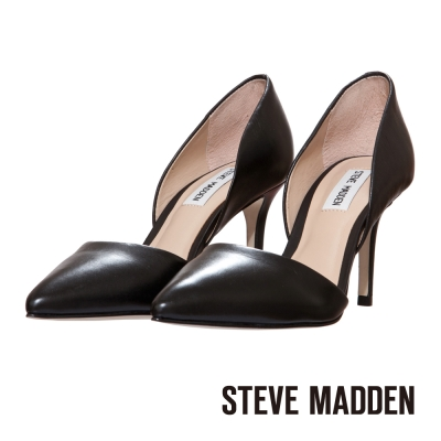 STEVE-MADDEN-尖頭高跟鞋-經典黑