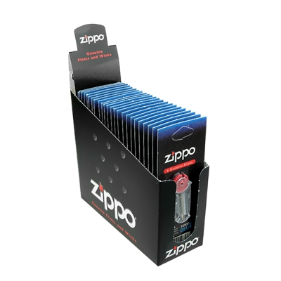 【ZIPPO】原廠打火石~<b>1</b>盒24組入(一組6粒裝)