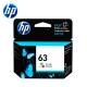 HP F6U61AA NO.63 原廠彩色墨水匣 product thumbnail 1