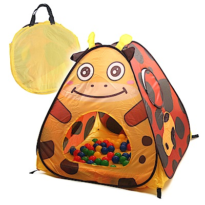 Willy Baby Home 三角遊戲球屋動物系列-長頸鹿