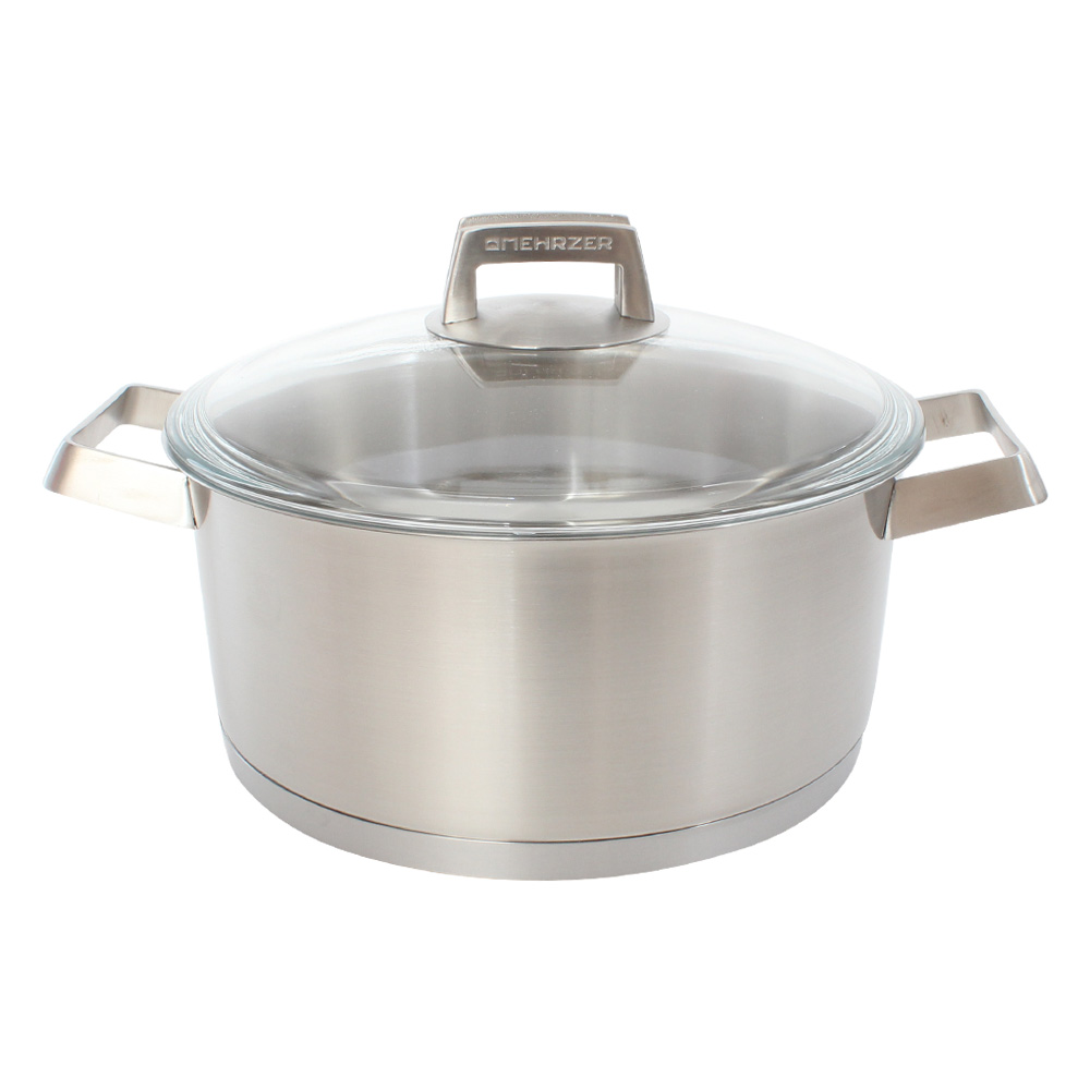 Mehrzer歐梅樂 不鏽鋼附蓋湯鍋24cm