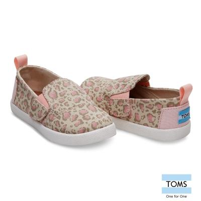 TOMS 豹紋懶人鞋-幼童款