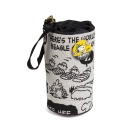 Sanrio SNOOPY歡樂露營系列緹花織布保特瓶水壺套