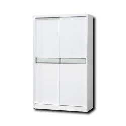簡約風 希爾達4尺衣櫥-121x60x198cm