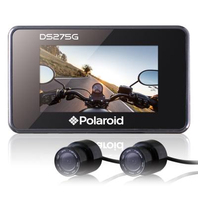 Polaroid寶麗萊 DS275G 重機車前後雙鏡頭行車記錄器(內含32G)