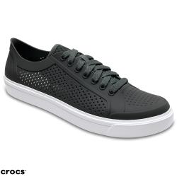 Crocs 卡駱馳 (男鞋) 都會街頭洛卡繫帶鞋 204872-07I