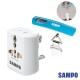 SAMPO 旅行萬用轉接頭+行李秤 (EP-UA2C-W+BF-L1402AL) product thumbnail 1