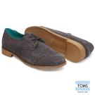 TOMS 麂皮牛津鞋-女款(灰)