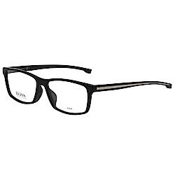 BOSS 時尚光學眼鏡 (黑色)BOSS0900F