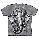 摩達客 美國進口The Mountain 象頭神臉 純棉環保短袖T恤