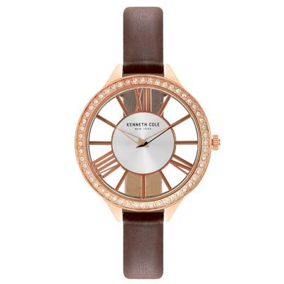 Kenneth Cole 羅馬夜夢 晶鑽腕錶~KC50184002~41mm