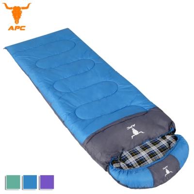 APC《純棉格子》秋冬加寬可拼接全開式睡袋