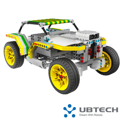 UBTECH 叢林飛車 積木機器人