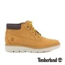 Timberland 女款小麥黃彈性支撐皮革低筒靴