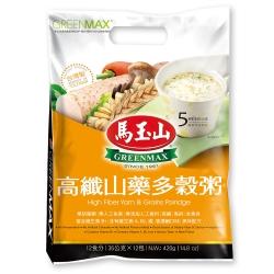 馬玉山 高纖山藥多榖粥(35gx12入)