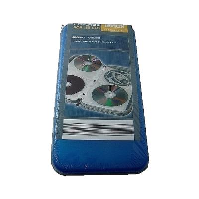 48片裝CD/DVD拉鍊式光碟收納包PE-48(3入裝)