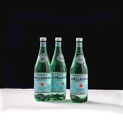 S.Pellegrino 聖沛黎洛天然氣泡礦泉水(1000mlx12入)