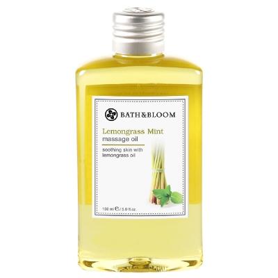 Bath & Bloom 檸檬草薄荷純天然植物按摩油 170ml
