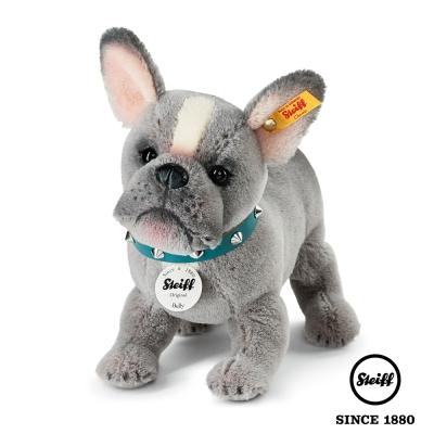 STEIFF德國金耳釦泰迪熊 鬥牛犬 小狗 Bulldog Puppy (動物王國)