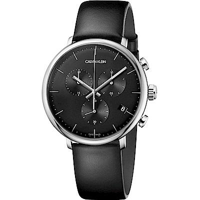 Calvin Klein high noon系列極簡計時腕錶(K 8 M 271 C 1 )- 43 mm