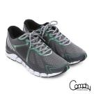 Comphy 厚切超氣囊 輕量彈力綁帶奈米健走運動鞋 灰色