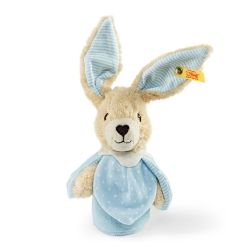 STEIFF德國金耳釦泰迪熊 - 嬰幼兒玩偶 Hoppel Rabbit Grip Toy