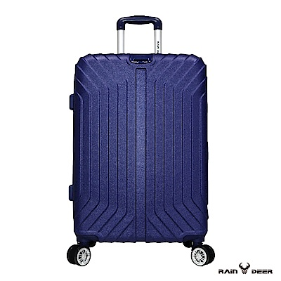 RAIN DEER 創世紀28吋耐磨防刮電子紋行李箱-薰衣紫