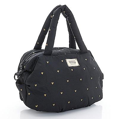 VOVAROVA空氣包-三用肩背托特包-心空閃耀(黑)
