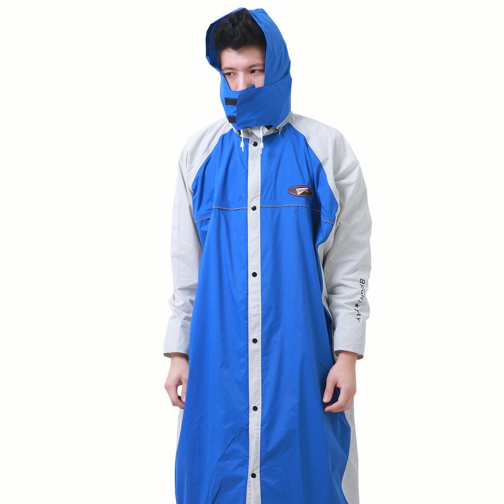 [快]BrightDay 風雨衣連身式 - 蜜絲絨前開款