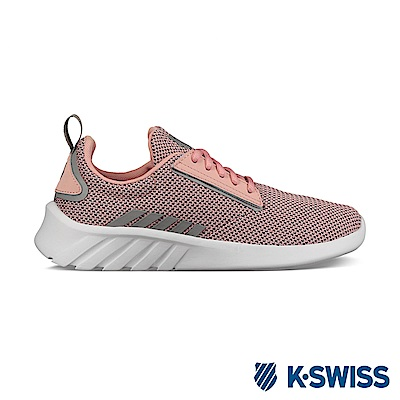 K-swiss Aeronaut 輕量訓練鞋-女-蜜桃橘/銀