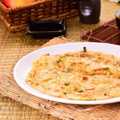 蔥阿伯 宜蘭拔絲蔥抓餅 3包 (10片/包)
