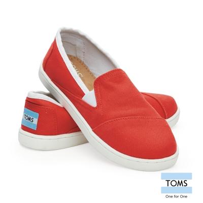 TOMS 鮮甜紅莓懶人鞋-孩童款