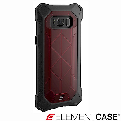 美國Element Case Samsung Galaxy S8+ REV 防摔保護殼-紅