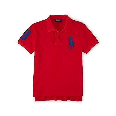 Ralph Lauren 短袖 POLO 素面 小孩 紅 0751 @ Y!購物