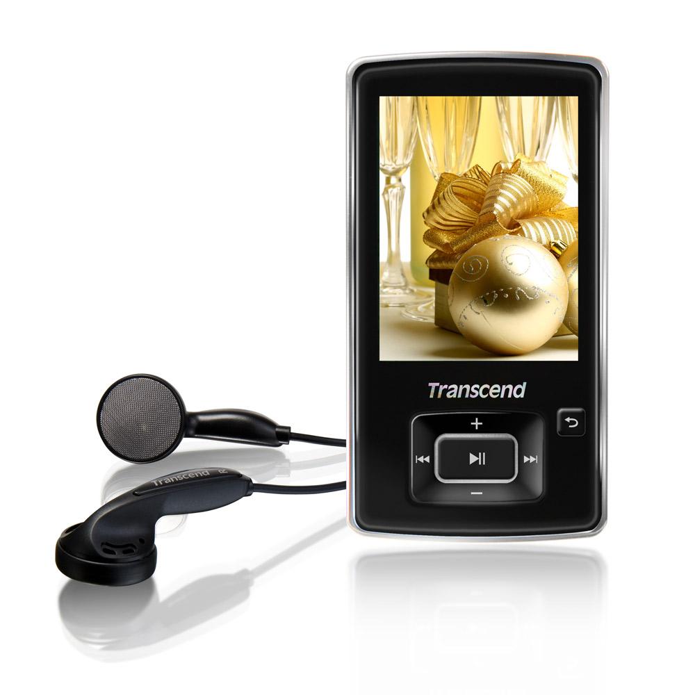創見 8GB 870 MP3音樂播放器 (黑)