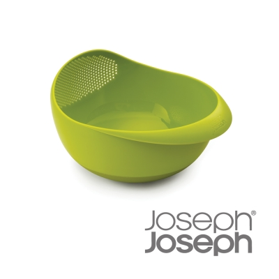 Joseph Joseph 浸泡洗滌兩用濾籃(大綠)