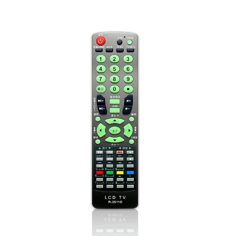 Kuki-kit專用型電視遙控器(聯碩/禾聯) WD-R2511D