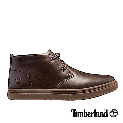 Timberland 男款深咖啡色粒面3.0 Cupsole素面休閒鞋