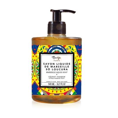 Baija Paris 巴黎百嘉 香櫞百香果古法液體馬賽皂 500ml