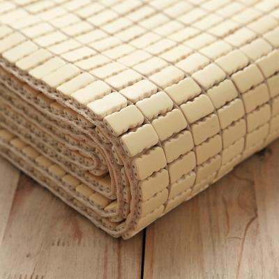 葉月 經典專利麻將型孟宗竹涼墊涼蓆竹蓆- 加大雙人 6X6.2尺