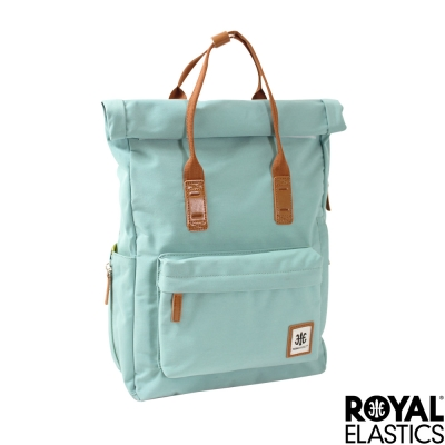 Royal Elastics - 捲蓋式小型後背包 - Rainbow彩虹甜心- 冰海綠