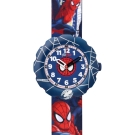 Flik Flak 兒童錶 SPIDER-CYCLE 蜘蛛人顯威手錶-34.75mm