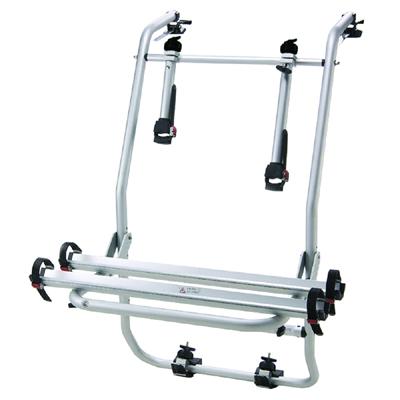 活動式 斜平背鋁槽式攜車架