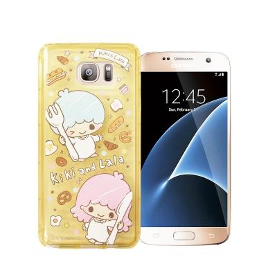 三麗鷗KiKiLaLa雙子星 Samsung S7 夢幻防震空壓殼(雙子甜點)