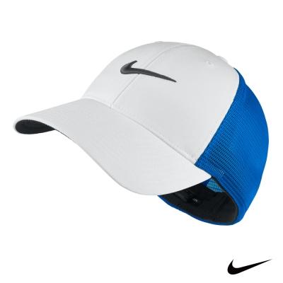 NIKE GOLF LEGACY 91 TOUR MESH 運動素面網帽-藍727031-406