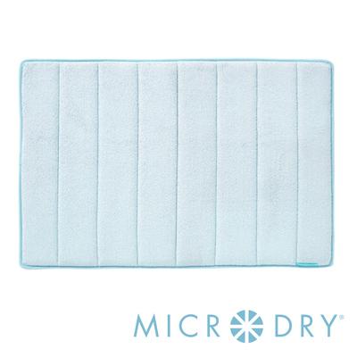 Microdry 時尚地墊 舒適記憶綿浴墊【天際藍/ L】(53x86cm)