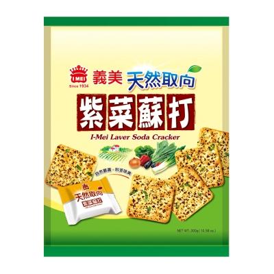 義美 天然取向紫菜蘇打餅乾(300g)