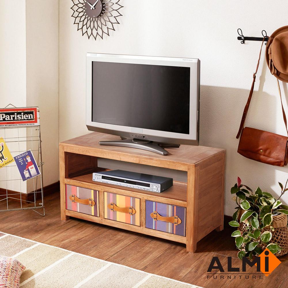 ALMI-BAYADERE-TV BUFFET 三抽電視櫃W86*D40*H50CM