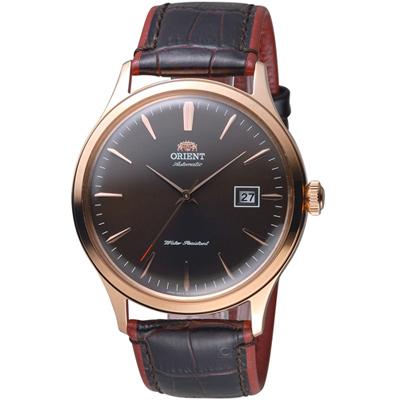 ORIENT 東方錶 DATEⅡ機械腕錶-42mm/深咖啡色