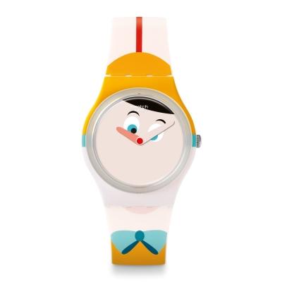 Swatch 原創系列 NASO LUNGO 長鼻子手錶